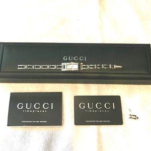 Gucci diamond watch.